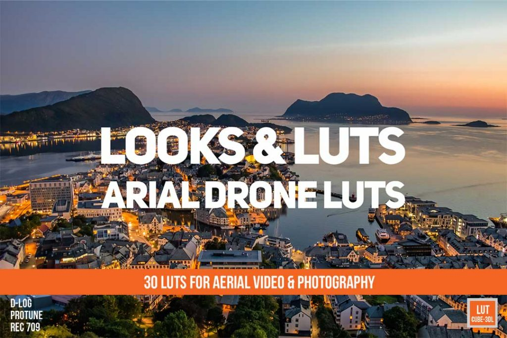 Aerial Drone Luts Pack cover
