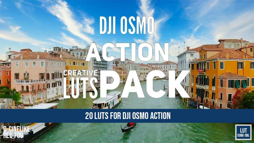DJI Osmo Action Luts Pack cover