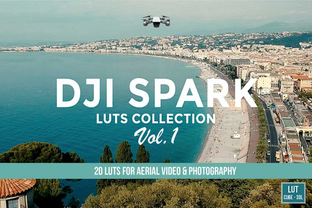 Dji Spark luts collection vol.1 cover
