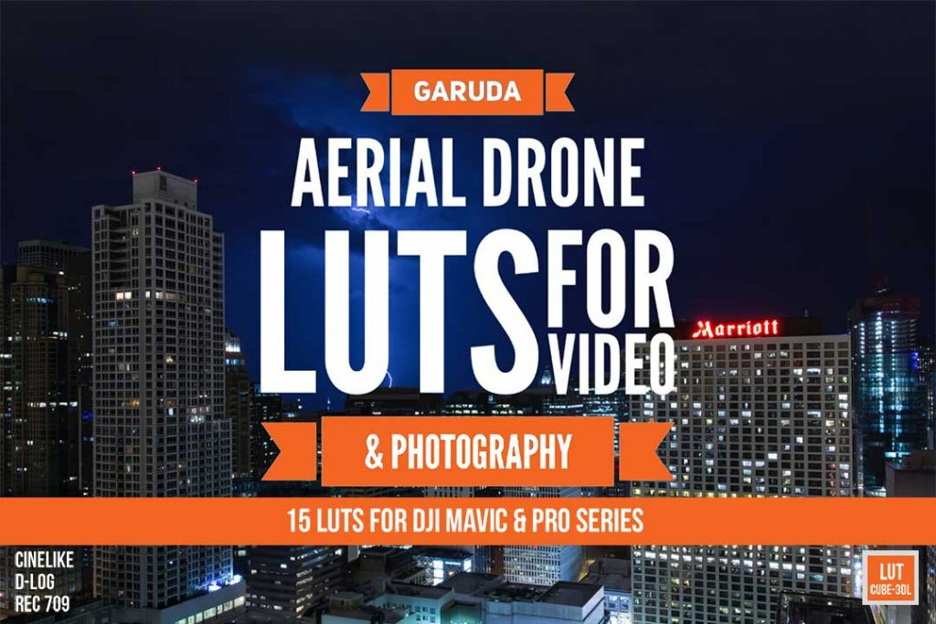 Garuda arial drone luts cover
