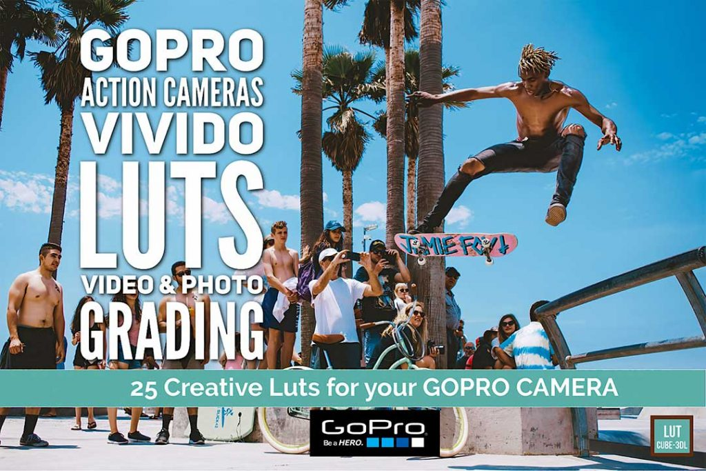 GoPro Vivido Luts cover