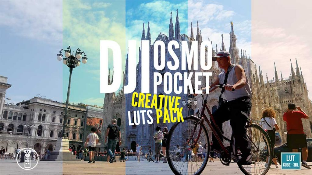 DJI Osmo Pocket Creative Luts cover